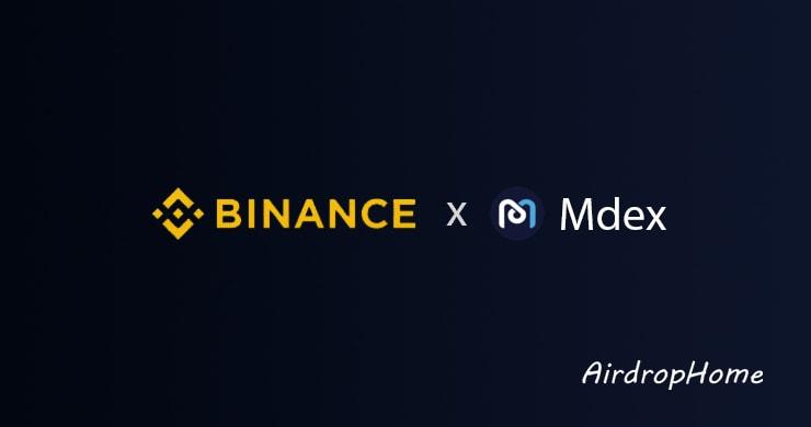 binance-x-mdex logo